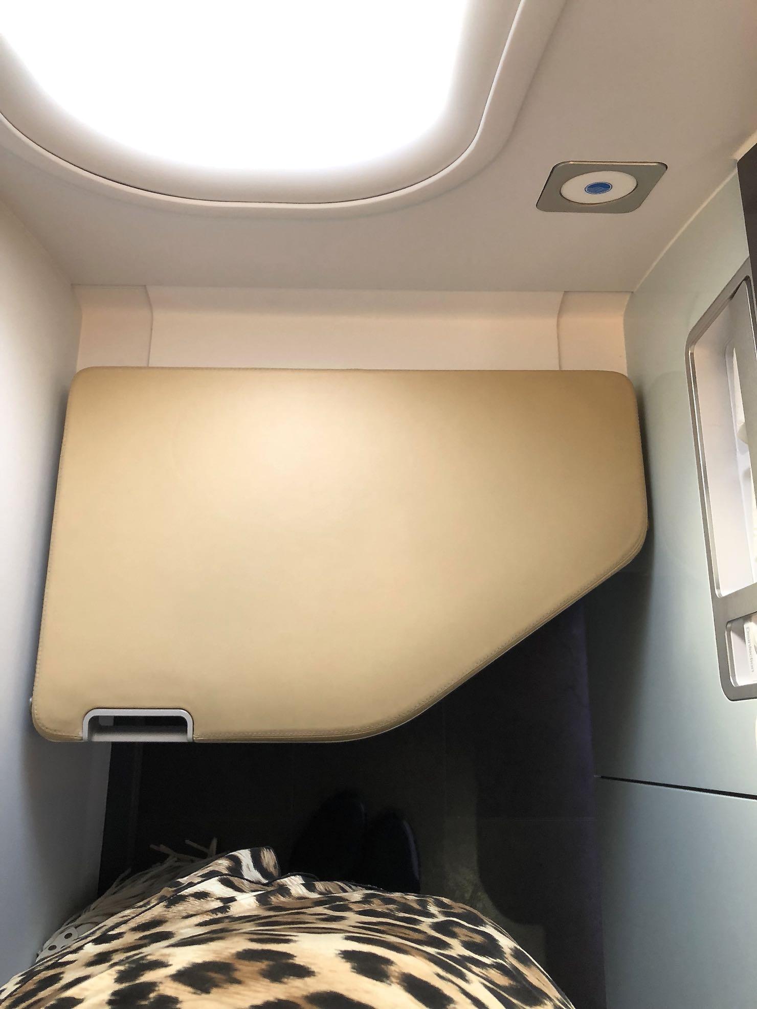 Zeitgeist Living Lufthansa First Class Flug