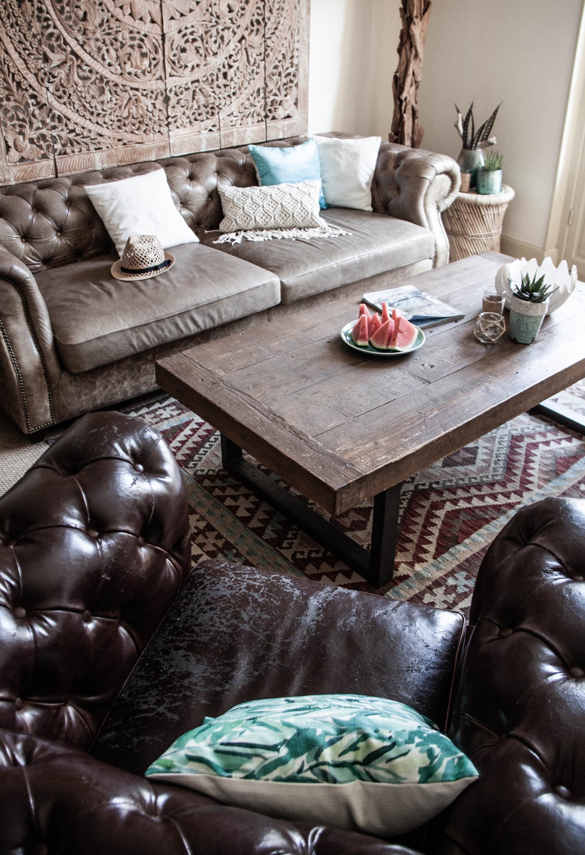 Zeitgeist Living Wohnzimmer Dekoration