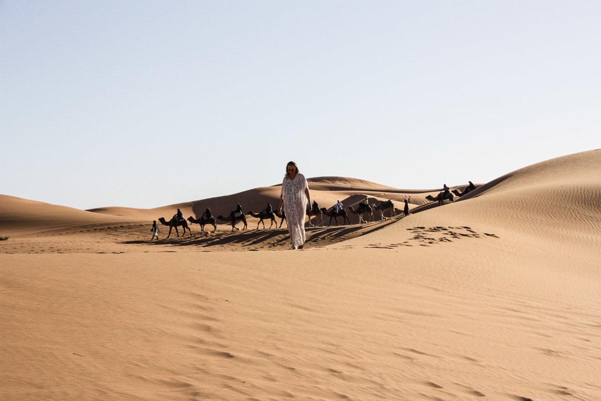 Zeitgeist Living Sunset in der Wüste & Marokko