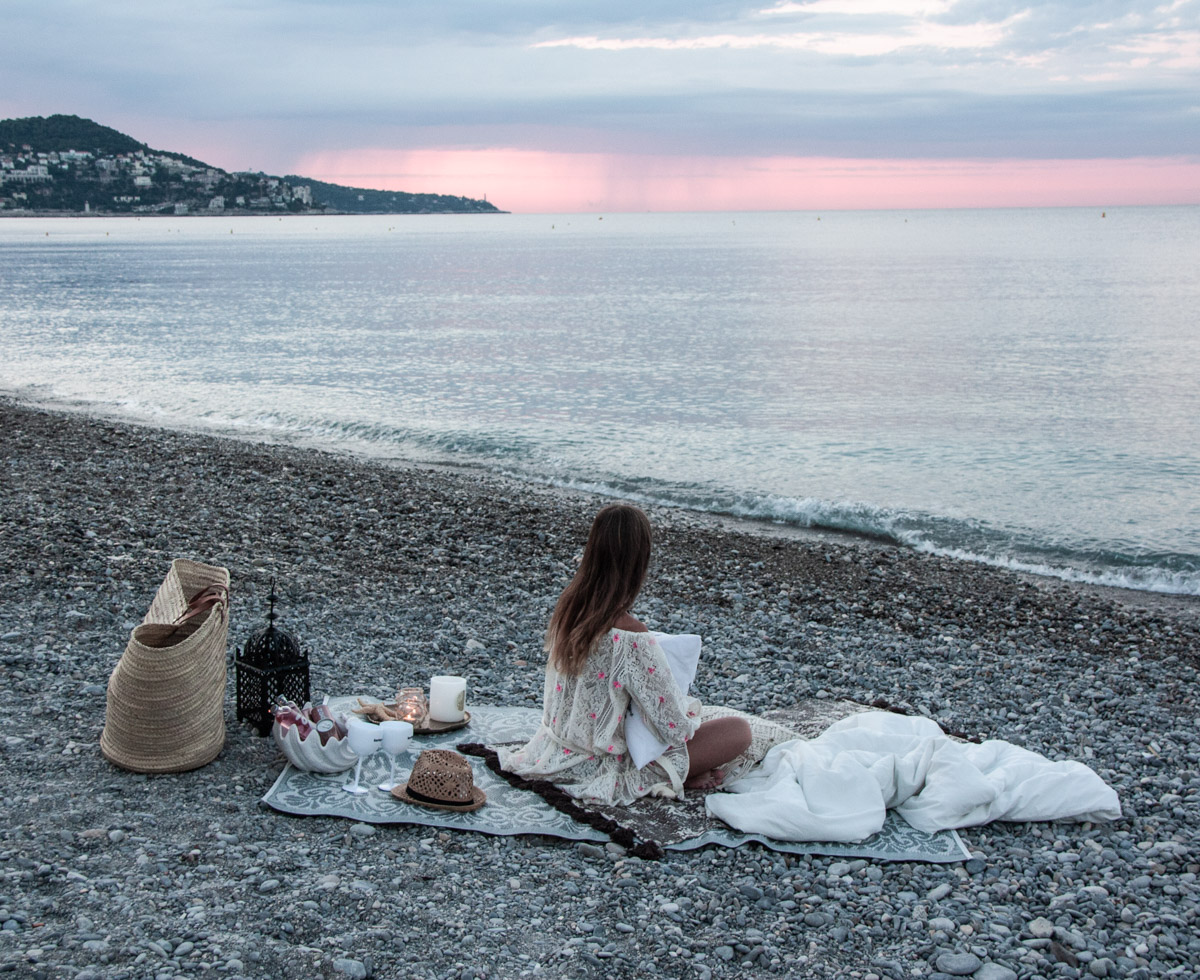 Zeitgeist Living Picknick am Strand & Dekoria