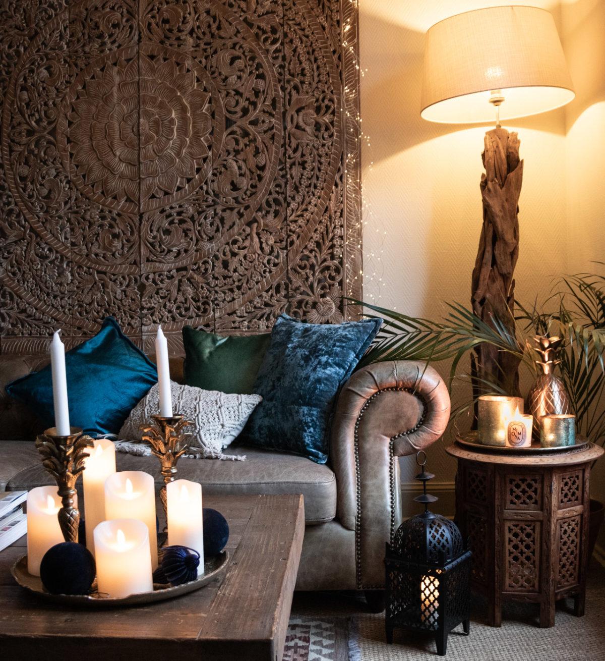 Zeitgeist Living neue Palmen Kerzenständer