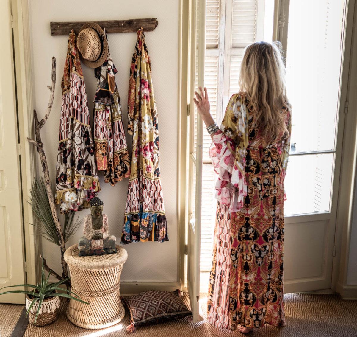 Zeitgeist Living sunny day & colourful Shahe lele dresses