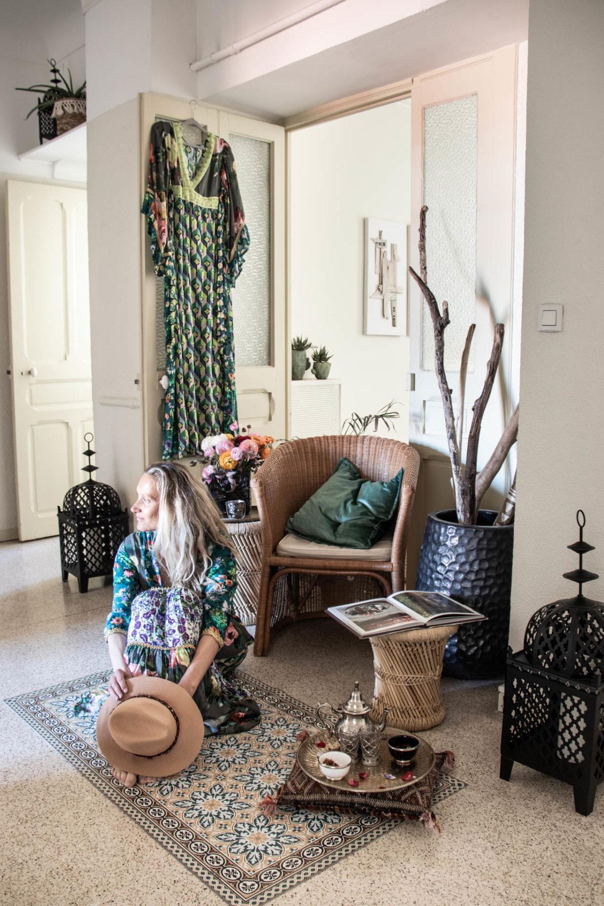 Zeitgeist Living Shahé lélé blue dresses & cozy Flur