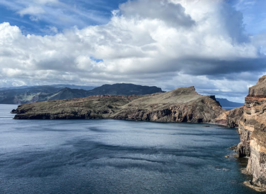 Zeitgeist Living Wandern auf Madeira Ponta Sao Lourenco