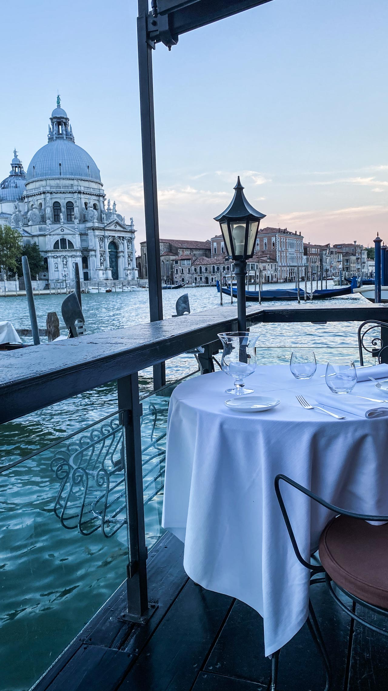 Palazzo Bauer Dream Dinner Place in Venice